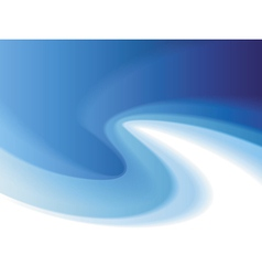 Background of blue soft curl vector image