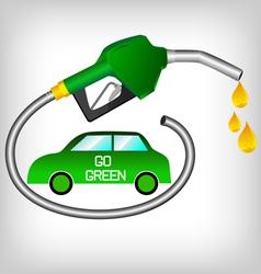 bio diesel vector image