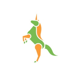 Unicorn-380x400 vector image