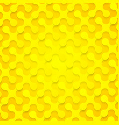 Bright yellow abstract shapes background texture vector