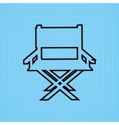 Filmed entertainment icon design vector