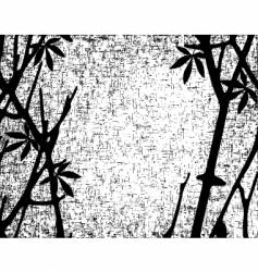 branch grunge vector image vector image