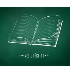 School notebook vector image vector image