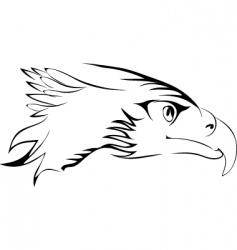 eagles had vector image