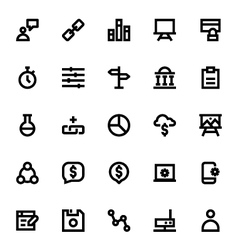 Web design and development icons 6 vector