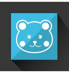 cute animal design vector image