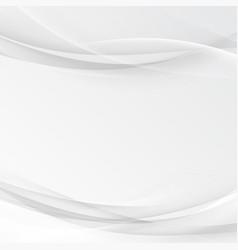 Futuristic grey abstract border line template vector