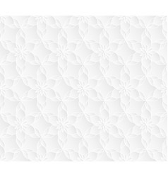 neutral white lotus texture vector image vector image