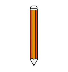 pencil isolated icon image vector image vector image