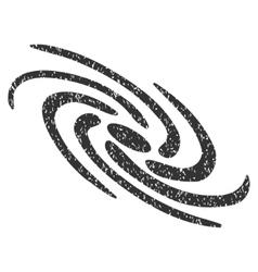 Galactic grainy texture icon vector