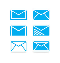 set e-mail vector image