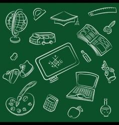 public school and graduation i vector image