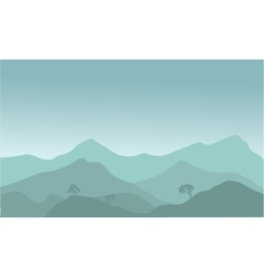 View of the hills vector