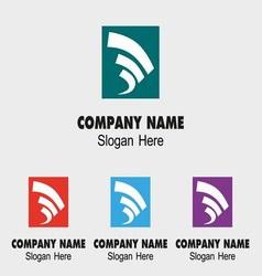 Abstract Creative Logo Development vector image