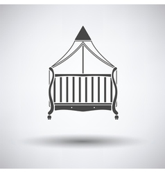 Cradle icon vector