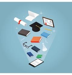 Education online vector