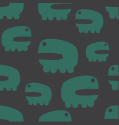 Animal seamless pattern vector