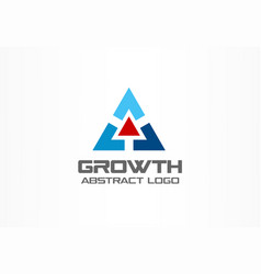 Abstract logo for business company technology vector