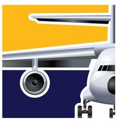 cargo air vector image vector image
