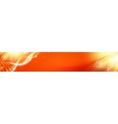 Colorful smooth light lines vector