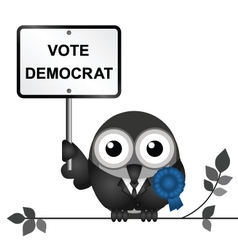 Democrat politician vector