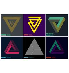 Simplicity geometric design vector