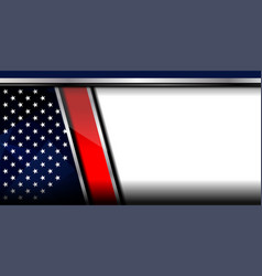 American template background vector