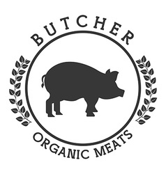 Seal butcher vector