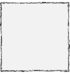 Curl Grunge Frame vector image vector image