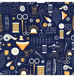 Graphic pattern of elements for sewing vector