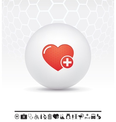medicine icon vector image