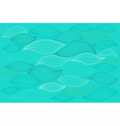 Sea waves Elements for design vector image vector image