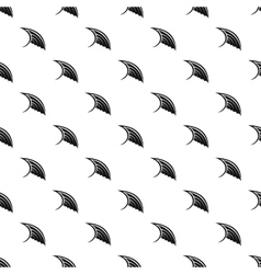 Angel birds wing pattern simple style vector