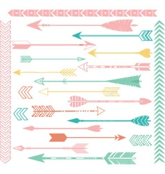 Arrow Clip Art Set vector image