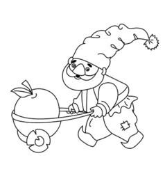 Cartoon Gnome vector image