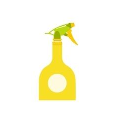 Yellow sprayer bottle vector
