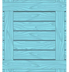 Background of blue boards with wood grain vector image