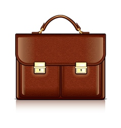 object briefcase vector image vector image
