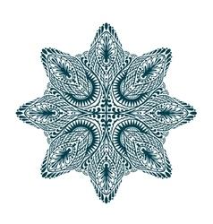 Ornament beautiful mandala geometric circle vector