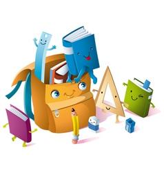 school will start again vector image