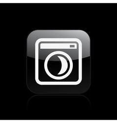sleep pc icon vector image vector image