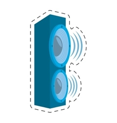 Speaker audio sound volume vector