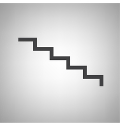 Staircase icon vector