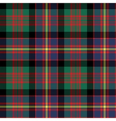 Cameron of erracht tartan fabric texture seamless vector