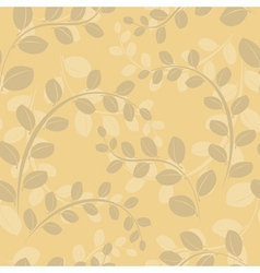 beige floral texture vector image vector image