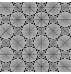 Design seamless monochrome octagon pattern vector