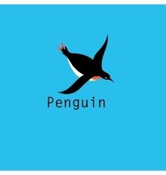 Graphic Penguin symbol vector image