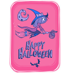 halloween background 2 vector image