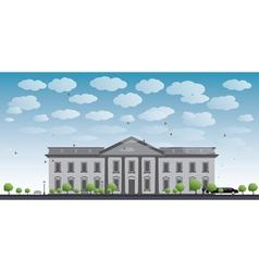 White House Washington DC vector image