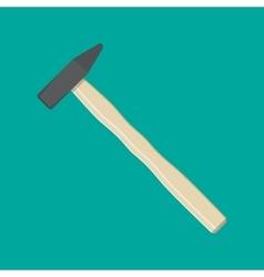 Carpenter hammer tool vector